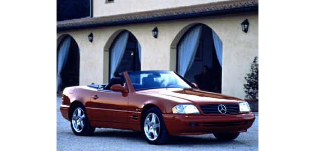 2000 Mercedes-Benz SL450