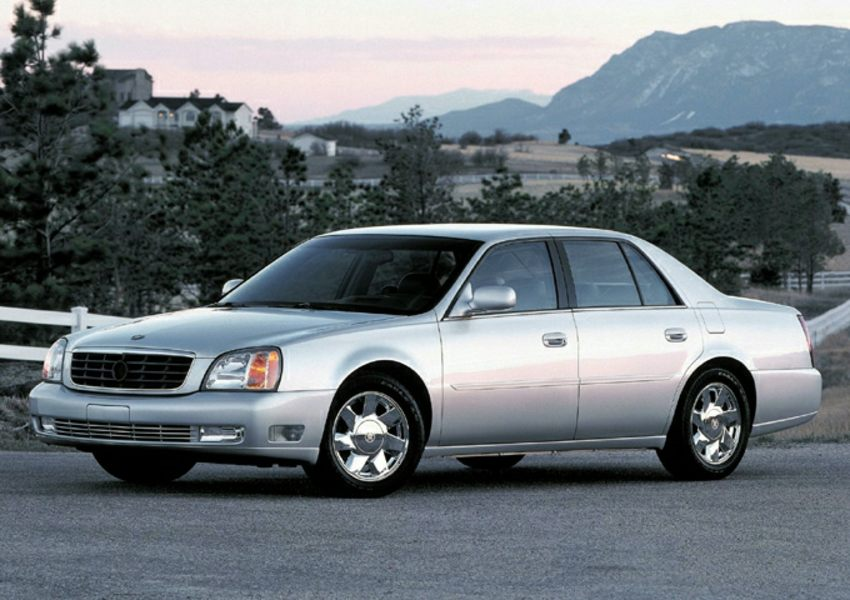 2001 cadillac deville reviews specs and prices. Black Bedroom Furniture Sets. Home Design Ideas