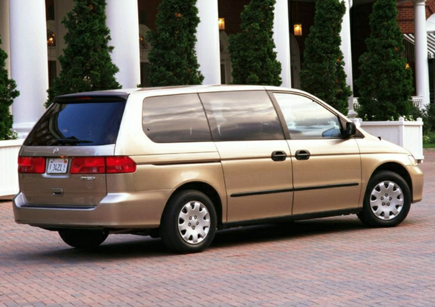 2001 honda odyssey reviews specs and prices for Honda odyssey height