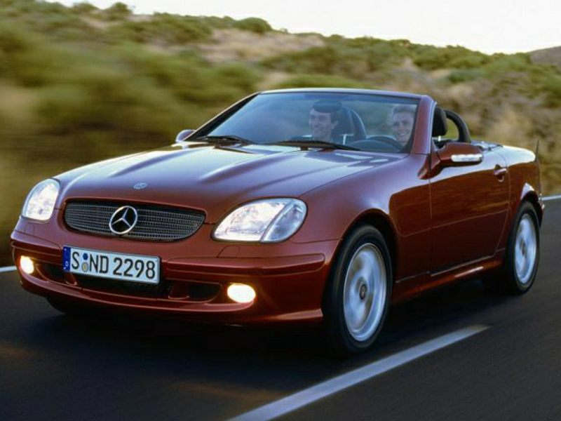 2001 mercedes benz slk class reviews specs and prices