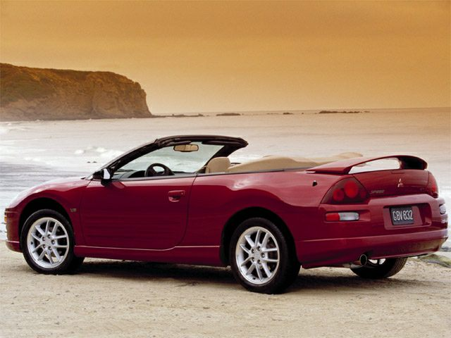 2001 Mitsubishi Eclipse Spyder GS Convertible for sale in Norfolk for $3,486 with 127,816 miles
