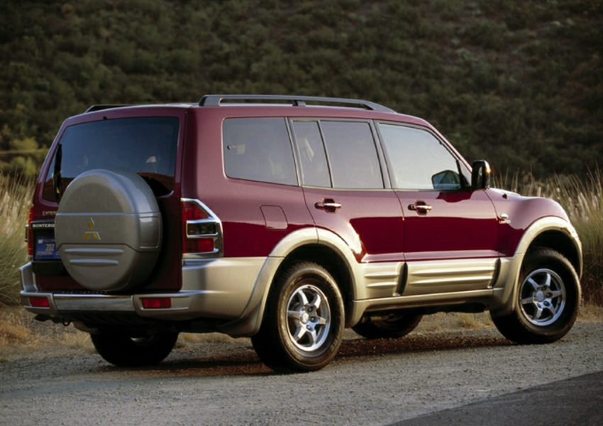 2001 mitsubishi montero reviews specs and prices. Black Bedroom Furniture Sets. Home Design Ideas