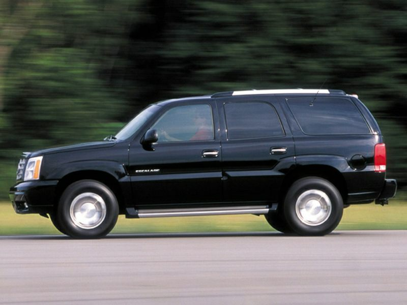 2002 cadillac escalade reviews specs and prices. Black Bedroom Furniture Sets. Home Design Ideas