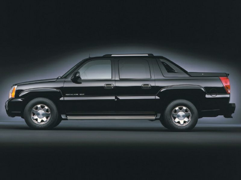 2002 cadillac escalade ext reviews specs and prices. Black Bedroom Furniture Sets. Home Design Ideas