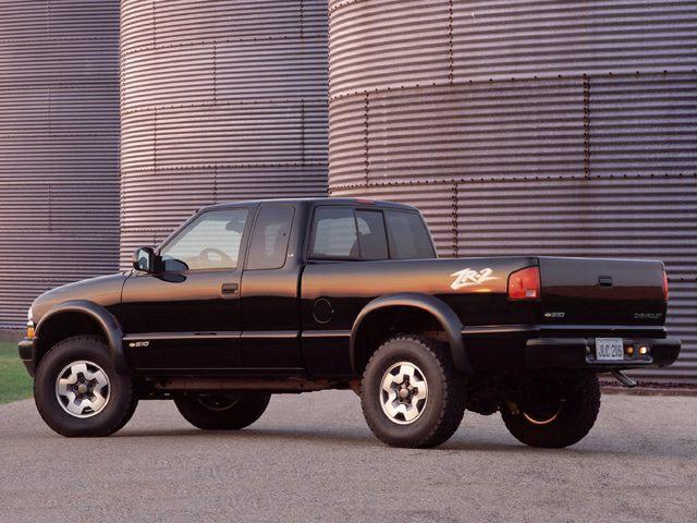 Used 2002 Chevrolet Blazer MPG amp Gas Mileage Data  Edmunds
