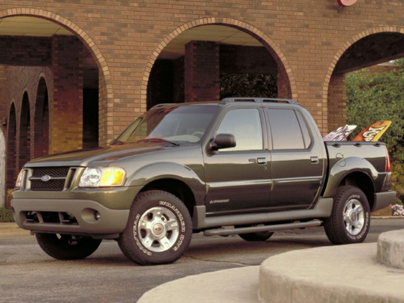 2002 ford explorer sport trac reviews specs and prices. Black Bedroom Furniture Sets. Home Design Ideas