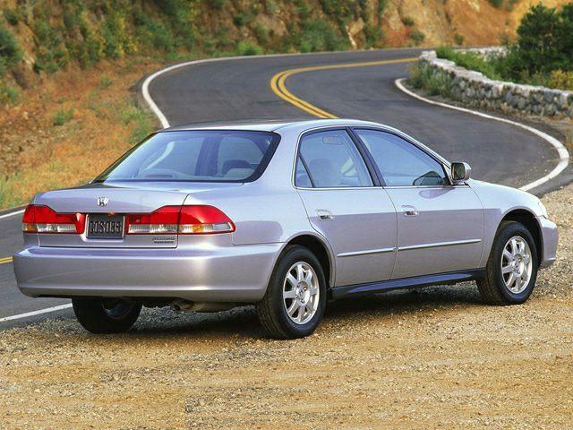 2002 Honda Accord Reviews Specs And Prices Cars Com