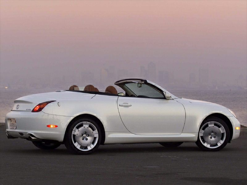 2002 lexus sc 430 reviews specs and prices. Black Bedroom Furniture Sets. Home Design Ideas