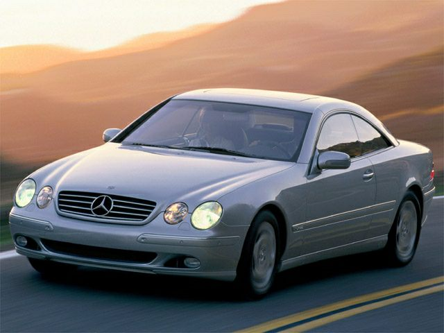 2002 Mercedes-Benz CL-Class CL500 Coupe for sale in Pasadena for $8,595 with 115,856 miles