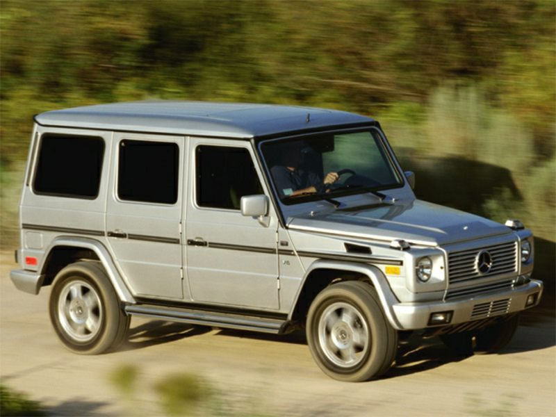 2002 mercedes benz g class reviews specs and prices. Black Bedroom Furniture Sets. Home Design Ideas