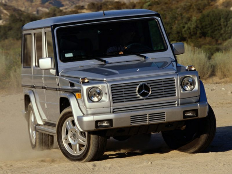 2002 mercedes benz g class reviews specs and prices for Mercedes benz g500 price