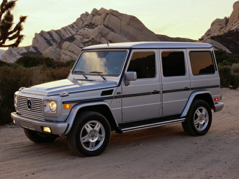 2002 mercedes benz g class reviews specs and prices for Mercedes benz g class truck price