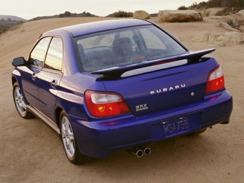 2002 subaru impreza reviews specs and prices. Black Bedroom Furniture Sets. Home Design Ideas