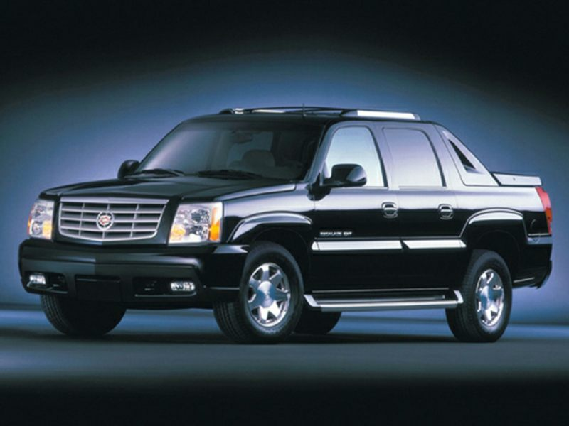 2003 cadillac escalade ext reviews specs and prices. Black Bedroom Furniture Sets. Home Design Ideas