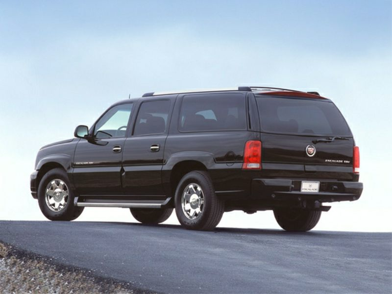 2003 cadillac escalade esv reviews specs and prices. Black Bedroom Furniture Sets. Home Design Ideas