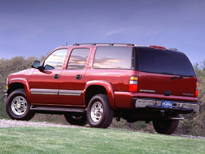 2003 chevrolet suburban reviews specs and prices. Black Bedroom Furniture Sets. Home Design Ideas
