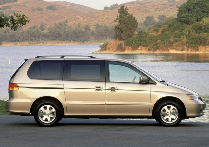 2003 honda odyssey reviews specs and prices for Honda odyssey height
