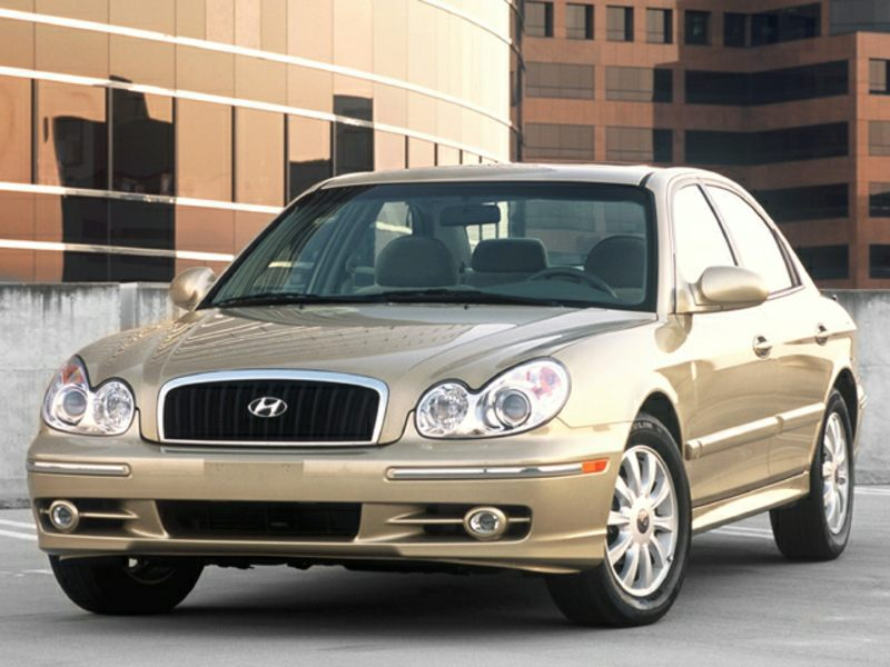 2003 hyundai sonata reviews specs and prices. Black Bedroom Furniture Sets. Home Design Ideas