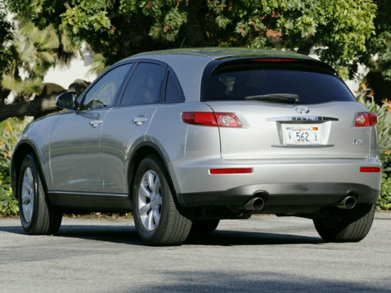 2003 infiniti fx35 reviews specs and prices. Black Bedroom Furniture Sets. Home Design Ideas