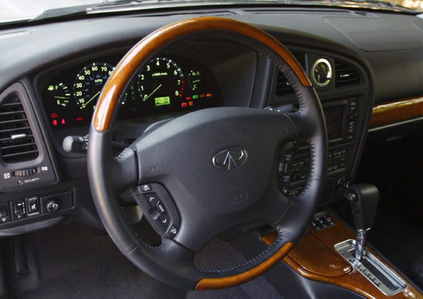 2003 INFINITI QX4 Reviews Specs And Prices
