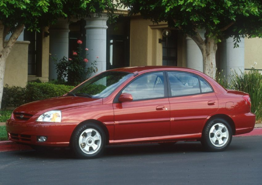 2003 kia rio reviews specs and prices. Black Bedroom Furniture Sets. Home Design Ideas