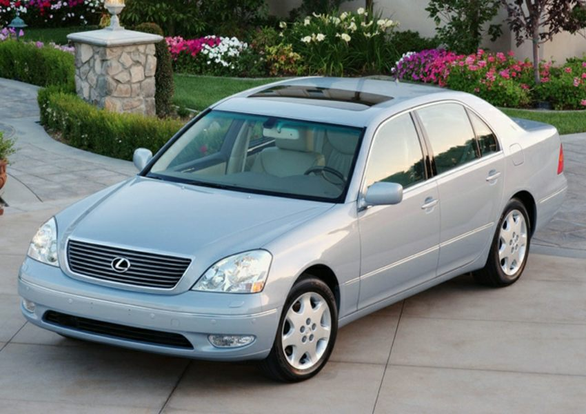 2003 lexus ls 430 reviews specs and prices. Black Bedroom Furniture Sets. Home Design Ideas