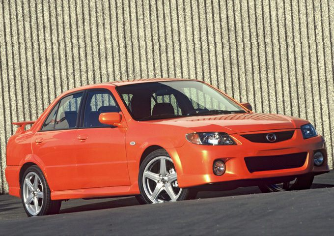 2003 Mazda MazdaSpeed Protege Sedan for sale in Raleigh for $4,450 with 133,310 miles.