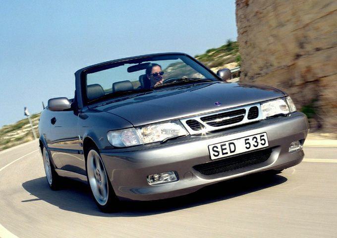 2003 Saab 9-3 SE Convertible for sale in Wayland for $4,990 with 96,760 miles