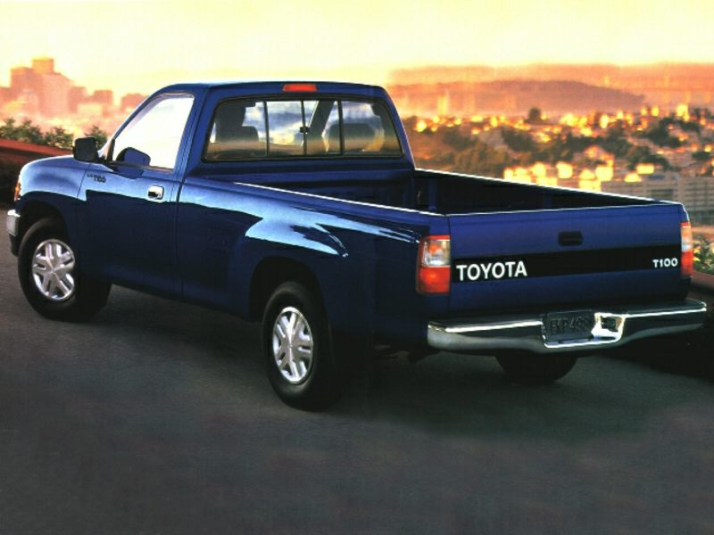 1996 toyota t100 reviews specs and prices. Black Bedroom Furniture Sets. Home Design Ideas