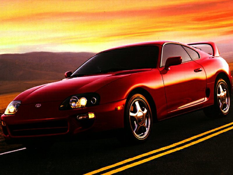 1998 toyota supra reviews specs and prices. Black Bedroom Furniture Sets. Home Design Ideas