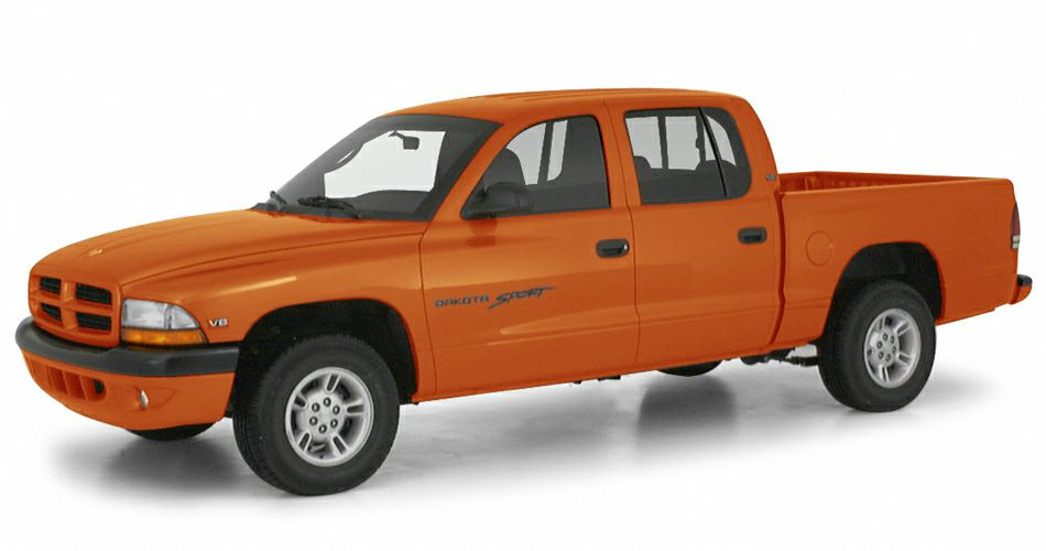2000 Dodge Dakota Quad Cab Crew Cab Pickup for sale in Akron for $2,127 with 181,138 miles.