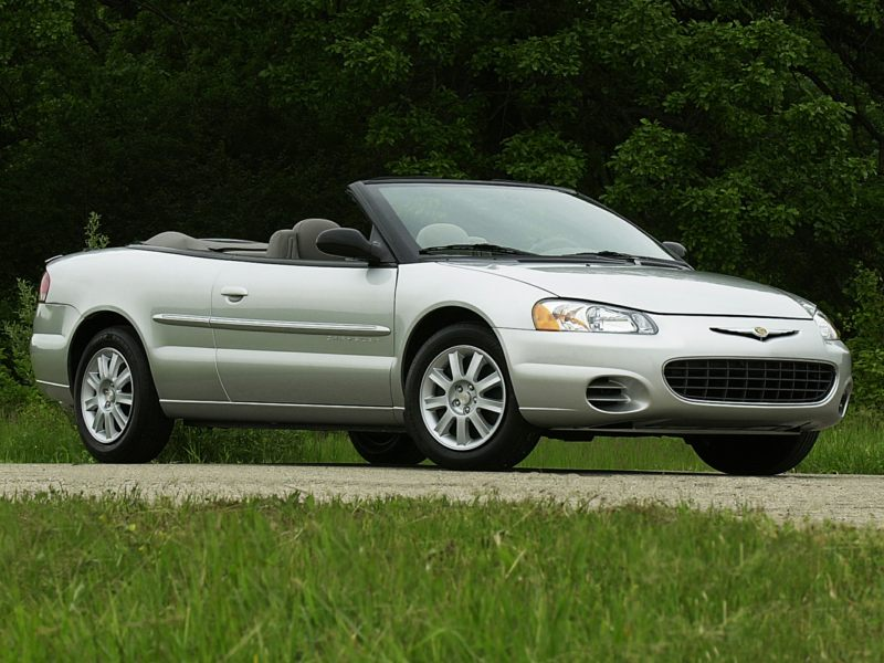 2003 chrysler sebring reviews specs and prices. Black Bedroom Furniture Sets. Home Design Ideas