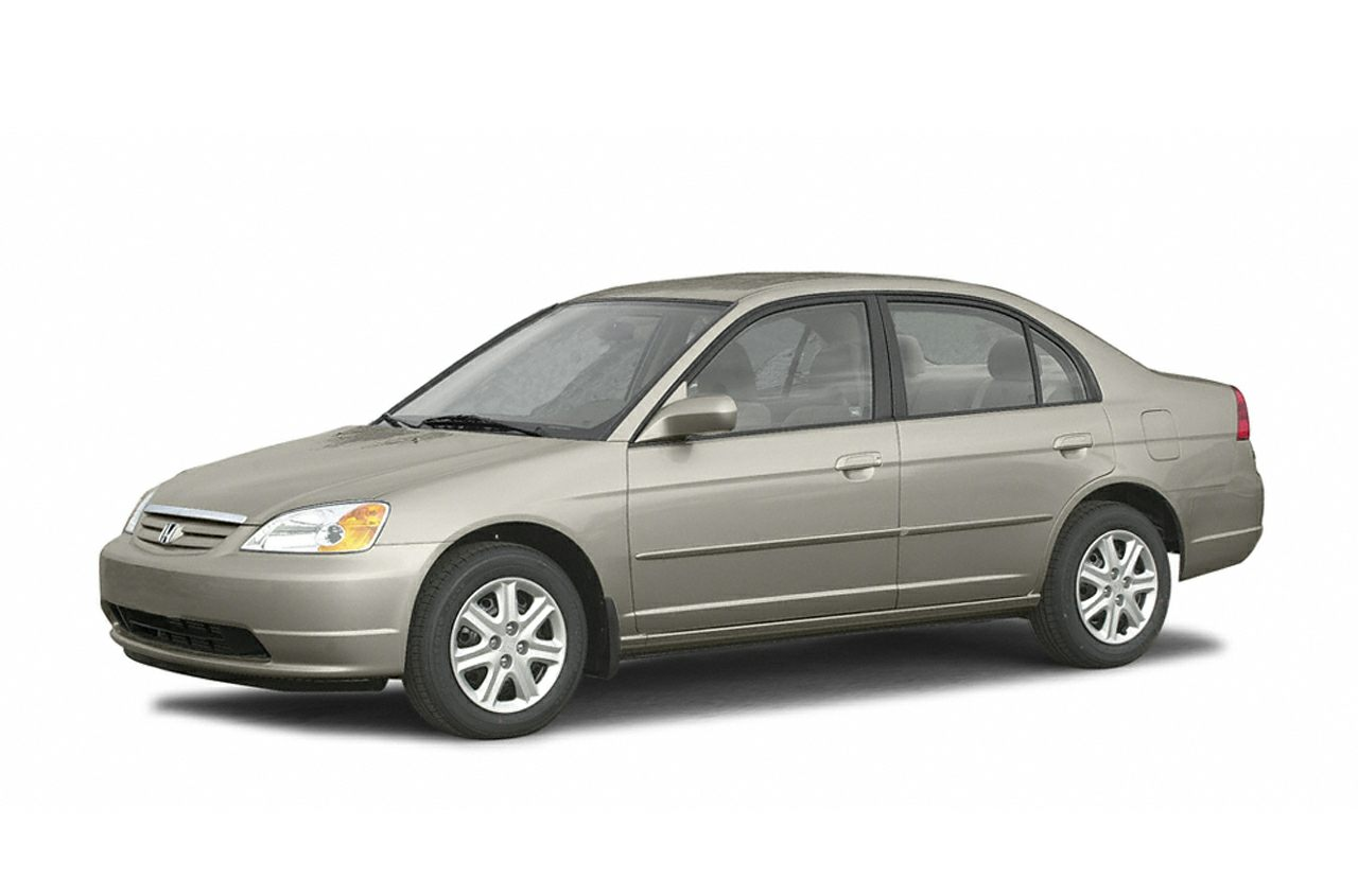 2003 Honda Civic LX Sedan for sale in Brunswick for $7,387 with 74,500 miles