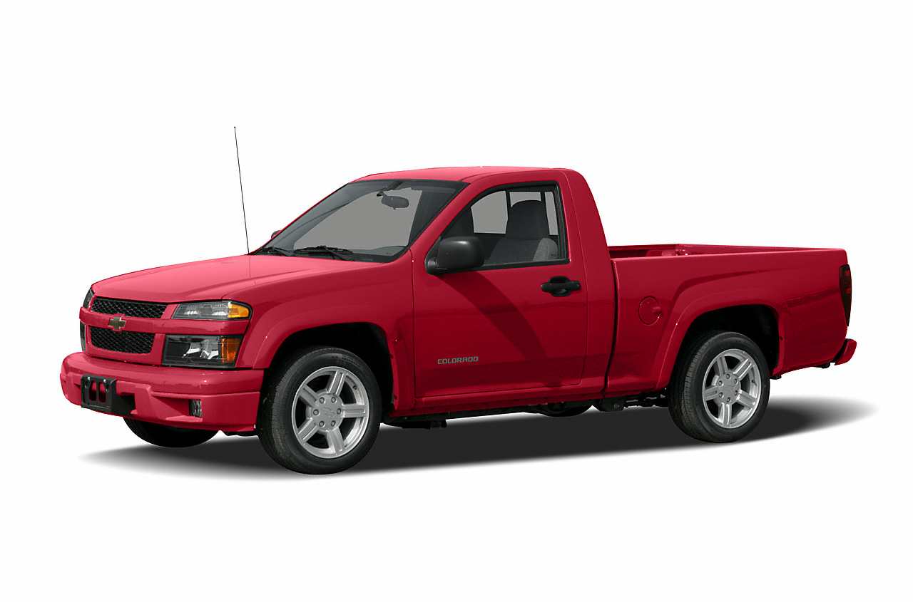 Available in 30 styles: 2005 Chevrolet Colorado 4x2 Regular Cab 6' box