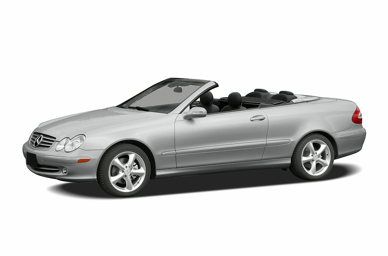 2005 Mercedes-Benz CLK-Class 500 Cabriolet Convertible for sale in Tulsa for $14,995 with 64,368 miles.