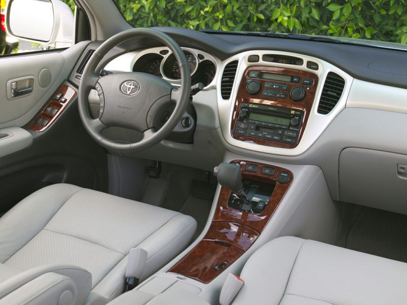2007 toyota highlander hybrid reviews specs and prices - Toyota highlander hybrid interior ...