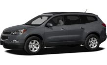Colors, options and prices for the 2011 Chevrolet Traverse
