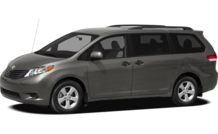 Colors, options and prices for the 2011 Toyota Sienna