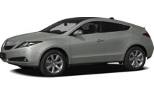 Colors, options and prices for the 2012 Acura ZDX