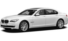 Colors, options and prices for the 2012 BMW 760
