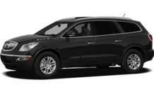Colors, options and prices for the 2012 Buick Enclave