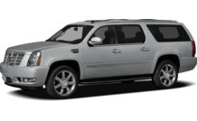 Colors, options and prices for the 2012 Cadillac Escalade ESV
