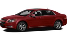 Colors, options and prices for the 2012 Chevrolet Malibu
