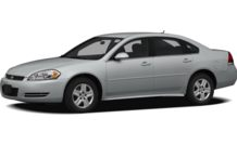 Colors, options and prices for the 2012 Chevrolet Impala