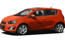 Colors, options and prices for the 2012 Chevrolet Sonic