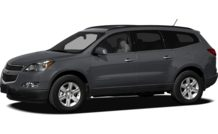 Colors, options and prices for the 2012 Chevrolet Traverse