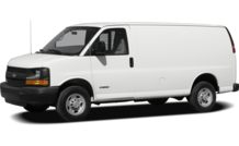 Colors, options and prices for the 2012 Chevrolet Express 3500