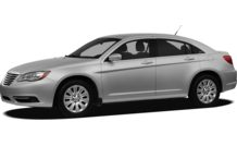 Colors, options and prices for the 2012 Chrysler 200