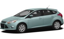 Colors, options and prices for the 2012 Ford Focus