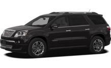 Colors, options and prices for the 2012 GMC Acadia